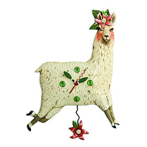 Allen Designs - Lote de 2 Relojes Llama Love, 30 x 40...
