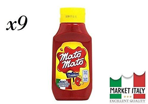 Mato Mato Kraft ketchup classico SQUIZ flacone da (9 x 390 gr)