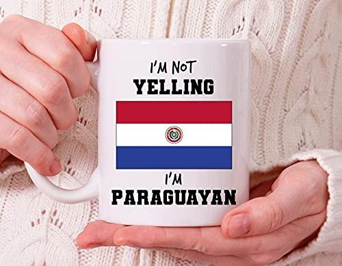 Taza paraguaya, ideas de regalo paraguayo, regalo paraguayo, regalos de Paraguay, taza de café paraguayo para el hogar oficina tiempo libre, Cu paraguayo