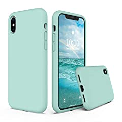 【Full Body Thickening Design】✅ Increase bottom protection, the thicker silicone material to protect enhanced. Effectively buffer the impact of falling the phone. 【Liquid Silicone Case for iPhone XS X 5.8 inches】✅ SURPHY designed for iPhone X case & f...