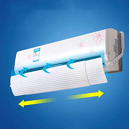 smallwoodi Wind Shield,Retractable Anti Direct Blowing Air Conditioner Wind Shield Deflector Baffle Air Conditioning Windshield Anti-Wind Hood Wall-Mounted Windshield Bedroom