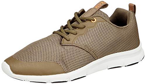 Amazon Brand - Symbol Men's Olive Polyester Sport Shoes-6 UK/India (40 EU) (AZ-YS-194 A)