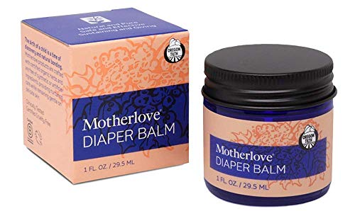 Motherlove Diaper Balm (1 oz.) Cloth Diaper Safe Herbal Ointment – Free of Zinc Oxide &...