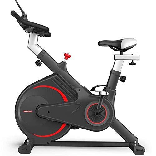 LANGWEI Bicicleta Estática, Fitness Bike Trainer Ultra Sile