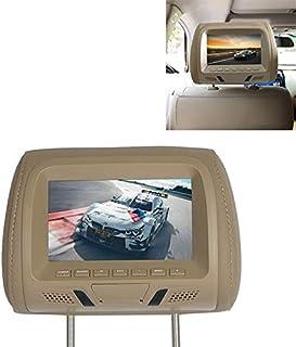 ZJJUN Electronics Video Audio Car 1080P HD Headrest Screen Display MP5 Player Support USB/SD Playback/FM Transmission Car ...