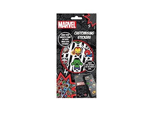 Marvel Avengers Kawaii Customising Stickers, Black