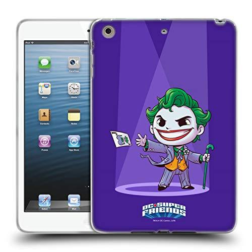 Official Super Friends DC Comics Joker Toddlers 2 Soft Gel Case Compatible for iPad Mini 1 / Mini 2 / Mini 3