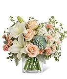 Glorious Peach Bouquet - Same Day Sympathy Flowers Delivery - Sympathy Flower - Sympathy Gifts - Send Online Sympathy Plants & Flowers