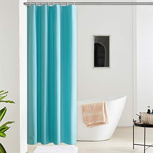 Furlinic 180x200 Duschvorhang aus Eva Badvorhang Anti-schimmel Vorhänge in Badezimmer für Badewanne Dusche...
