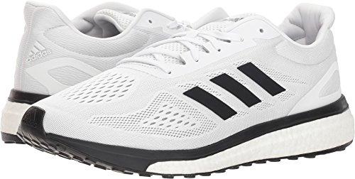adidas Response Boost LT Mens Running Shoe 8 White-Black-Clear Onix