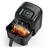 KOIOS Air Fryers Oven, Max XXL 7.8-Quart Dehydrator, 1800-Watt 4*6 Presets for Air