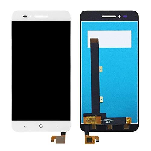 ZUAN 5.5 Pulgadas Compatible con ZTE Blade A610 Plus LCD + Pantalla táctil de 5.0 Pulgadas Compatible con ZTE Blade A610 Pantalla LCD de Repuesto digitalizador Asamblea (Color : A610 White)