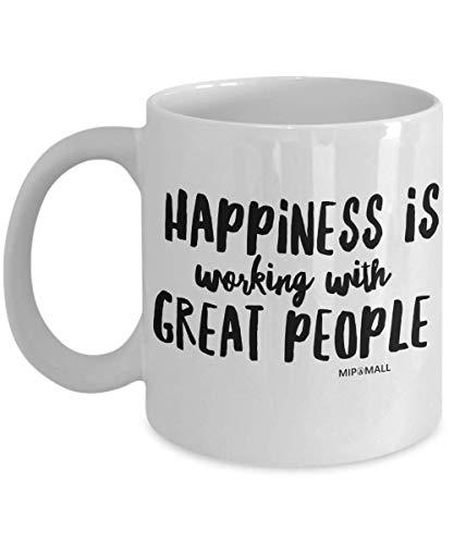 Tazza con scritta in lingua inglese, regalo divertente per collega, compagno di lavoro, socio, pensionamento, capo, per uomini e donne