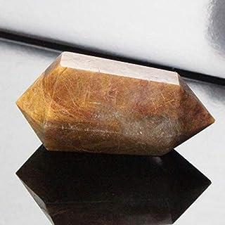 ルチルクォーツ ポイント Stone インテリア クラスター 原石 石 Point ポイント rutile quartz 金針水晶 魔除け 置物 浄化 天然石 天然石 パワーストーン a18904