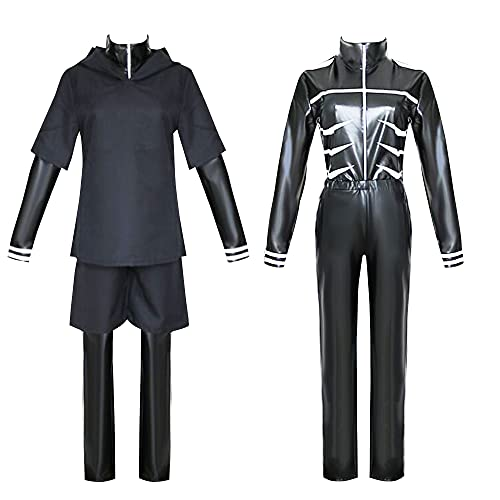 Kaneki Ken Cosplay Costume Jumpsuit Battle Uniform Suit Halloween Carnival Outfit