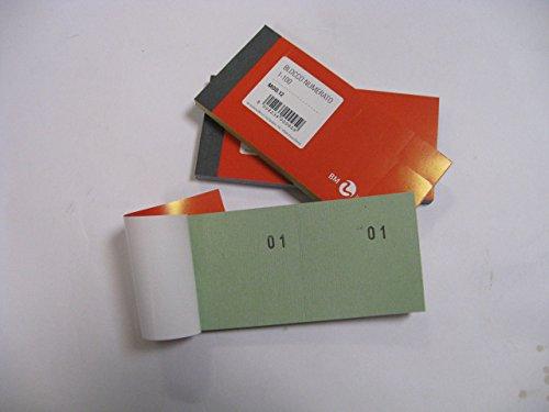 3 Blöcke mit Nummern von 1-100 für Verlosungen, Lotterien, Kirmes etc.