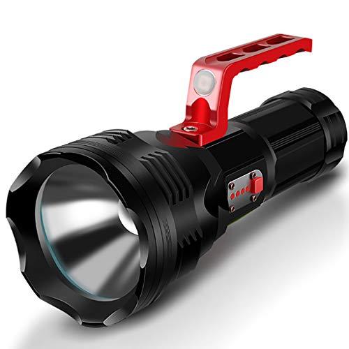 YATONG Lampe Torche Projecteur Portable Extérieur Étanche Lampes de Poche Portables Lampe Torche Rechargeable Lanterne Haute Puissance 15000mAh LED Super Lumineux