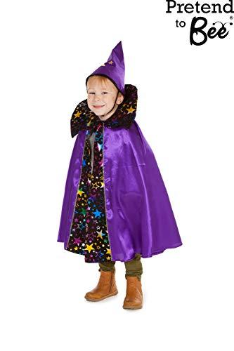 Garçons ou filles Cloak & Wizard Hat Fancy Dress Costume d'Halloween 3-7 ans [Jouet]