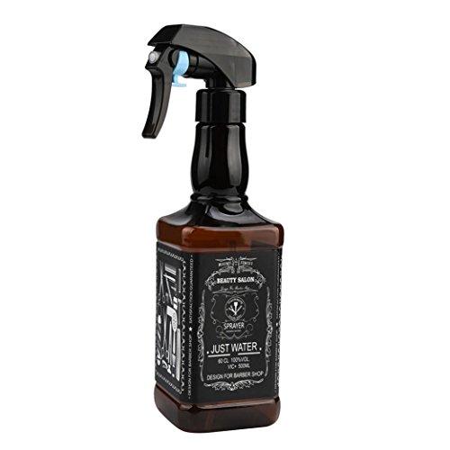 500ML Hairdressing Spray Bottle Salon Barber Hair Tools Water Sprayer - Brown
