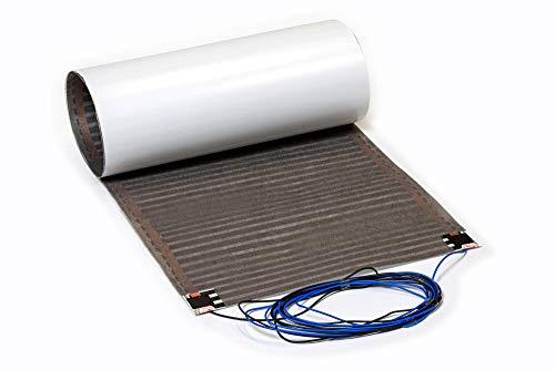 SFX® Elektrische Fußbodenheizung 1,25m² - 2,75m² Heizfolie 80Watt/m² Flachheizung Bodenheizung Flächenheizung für Laminat/Parkett