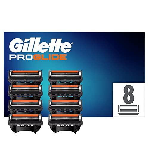 Gillette ProGlide Rasierklingen, 8 Rasierklingen pro Packung, mit 5 Anti-Irritations-Klingen für eine gründliche, langanhaltende Rasur, aktuelle Version