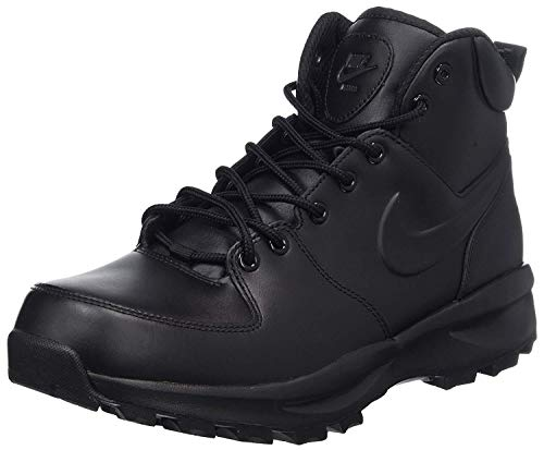 Nike Mens Manoa Leather Boot Black Size 14 M US