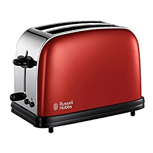 Russell Hobbs 18951-56 Toaster Colors 1100 W Rouge Flamboyant