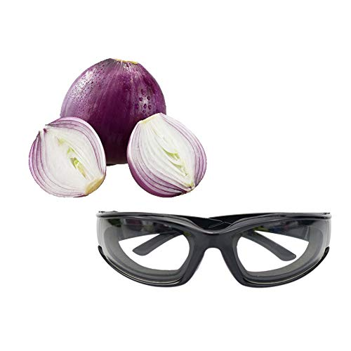 Zwiebel Schutzbrille dauerhafte Winddichte staubdicht Zwiebel-Brille Augen Protector Küche Zubehör