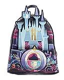 Loungefly Disney Cinderella Castle Mini Mochila, Multi, Talla única,