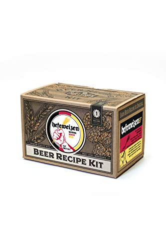 Home Brew Ingredient Kit – Craft a Brew 1 Gallon Beer Recipe Hefeweizen Beer Kit – Beer Recipe Kit – Make Your Own Beer with Home Brewing 1 Gallon Kits – Home Brewing Ingredient Kit