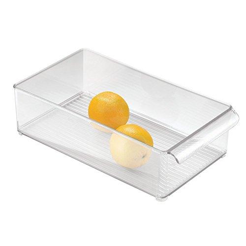 iDesign 70597EU Kühlschrank-Box 8 x 4, Durchsichtig