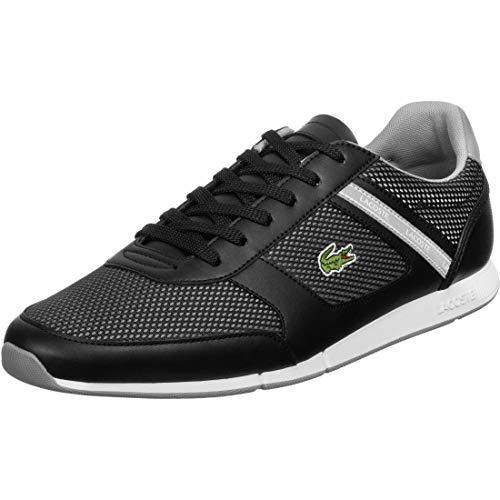 Lacoste Mens 739CMA0015231_43 Sneaker, Black, EU