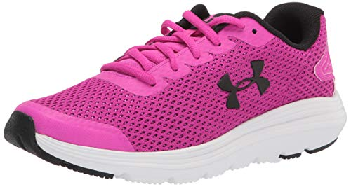 Under Armour Women's Surge 2 Running Shoe, Meteor Pink (500)/White, 9.5