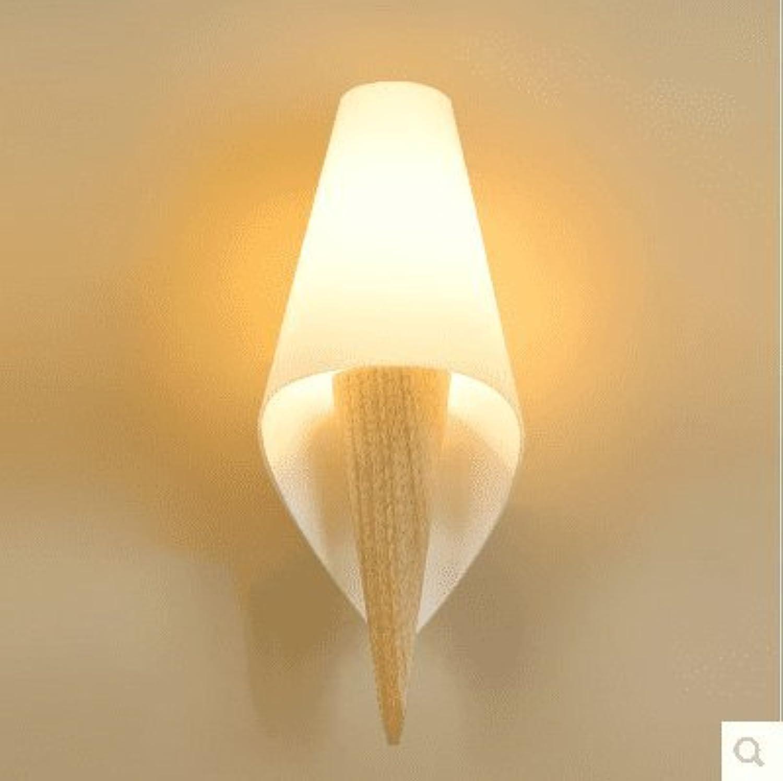 Wall lamp bracket light Wandlampe Wand Lampe Klammer Licht Wandlichter Wandbeleuchtung Sconces Einfaches Land und für Holz Bambus 320  200  130mm