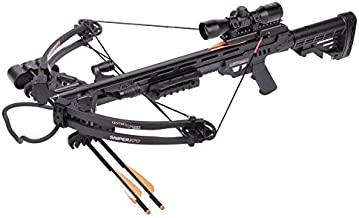 Centerpoint AXCS185BK Sniper 370 Crossbow Package, Black