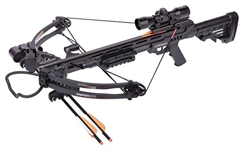 Centerpoint AXCS185BK Sniper 370 Crossbow Package,