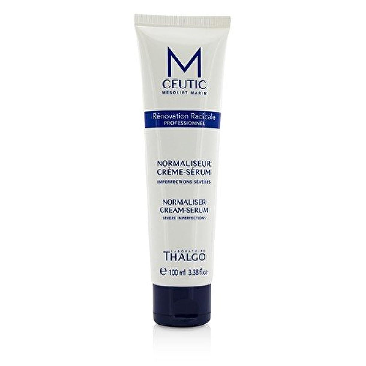 顎古代少なくともタルゴ MCEUTIC Normalizer Cream-Serum - Salon Size 100ml/3.38oz並行輸入品