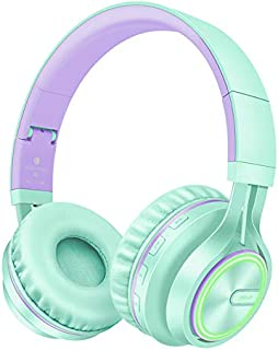 Wireless Noise Cancelling Stereo Headphones,Bluetooth Over-Ear Headset with Mic,HiFi heavy bass,24Hours Playtime for all Bluetooth Devices,E