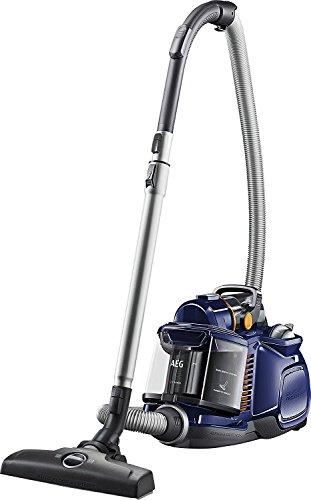 AEG LX7-1-DB–Aspirador sin bolsa, eficiencia energética A Sin tobera turbo 000 azul