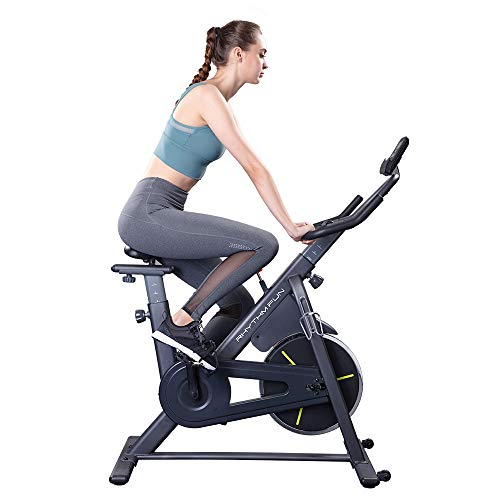 RHYTHM FUN Exercise Bike Indoor...