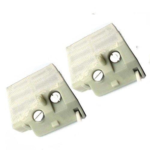 Tucparts Lot de 2 Filtre à air (Nylon) pour Stihl MS260 MS240/024 026 nouveaux modèles Remplace 1121 120 1617