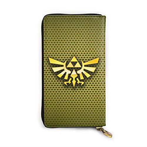 XCNGG Starga-Te Sg1 Wallet, RFID Blocking Carteras de Cuero Genuino con Cremallera Alrededor Monedero Monedero de Viaje Alrededor del Tarjetero Organizador Bolso de Mano