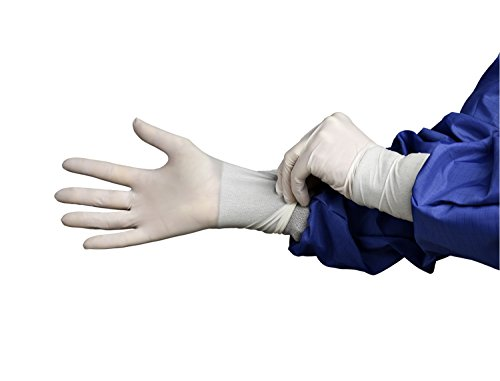Powder Free White 295 mm HandPRO 9301 Nitrile Ambidextrous Cleanroom Glove Pack of 1000 Small
