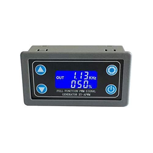 Yintiod XY-APWM-Signalgenerator Vollfunktionale PWM-Pulsfrequenz Einstellbares Modul Zyklus LCD-Anzeige Rechteckwelle