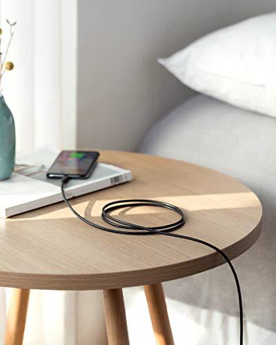 Anker USB C auf Lightning Kabel [1,8 m MFi Zertifiziert] Powerline II für iPhone 12 Pro Max/12/11 Pro/X/XS/XR/8 Plus/AirPods Pro, unterstützt Power Delivery (Ladegerät nicht enthalten) (Schwarz)