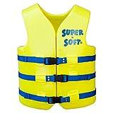 TRC Recreation 1022512 Adult Super-Soft USCG Vest, Yellow, Small