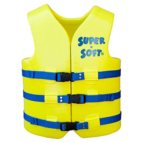 Save %24 Now! TRC Recreation Adult Super-Soft USCG Vest, Yellow, Large