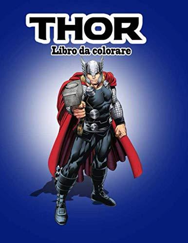 Thor libro da colorare