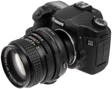 400D 5 T1I 35mm Fuji Fujica X-Mount Lenses to Canon EOS EF Mount ...