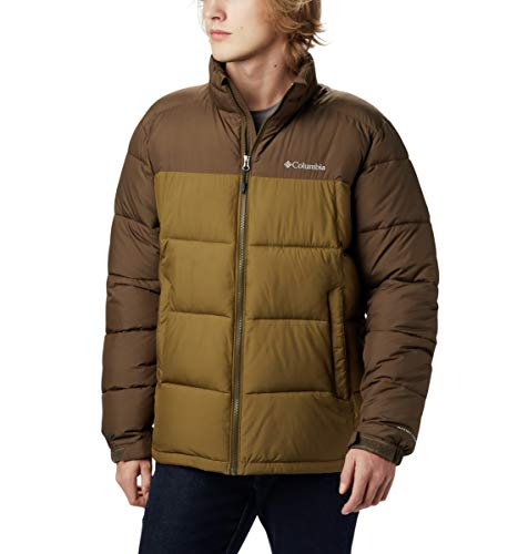 Columbia Men's Pike Lake Jacket, Olive Brown, Olive Green, Small